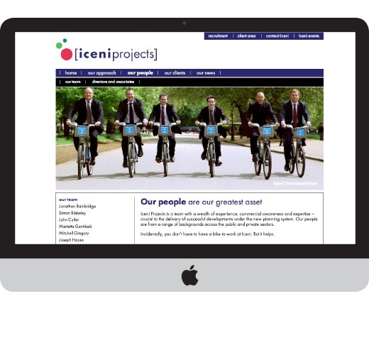 iceni projects bicyclists